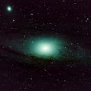 M31 lightframes only,                                Heino