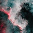 NGC7000 in HOO The Great North American Nebula,                                Jonathan Young