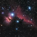 Flame and Horsehead Nebulas,                                henri62