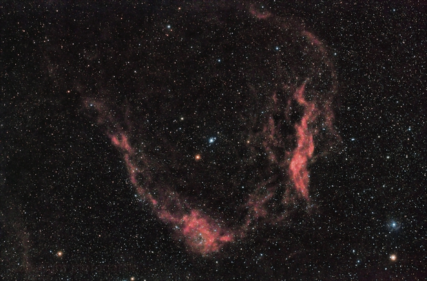 Flying Bat Nebula HaRGB,                                pterodattilo