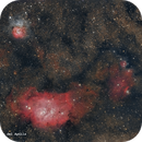 M8 (La Laguna) - M20 (Trifida),                                José Fco. del Agu...