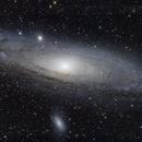 M31 - Galaxie d'Andromède,                                Jérôme Bastardie