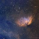 Tulip Nebula in SHO,                                Sean Molony