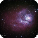 M8 - Nebulosa da Lagoa,                                Leo Pires