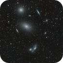 Markarian's Chain as part of the Virgo Galaxy Cluster,                                Frank Breslawski
