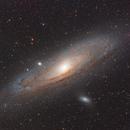 M31 HaLRGB (mix of old+new data),                                Xplode