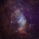 Bubble Nebula in SHO,                                chuckp