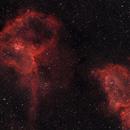 Heart and Soul Nebulae,                                Mike Brady