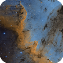 Cygnus Wall During Full Moon,                                Chris R White