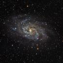 M33 - Triangulum Galaxy,                                Ahmet Kale
