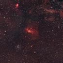 Bubble Nebula with Nova,                                Jared Holloway