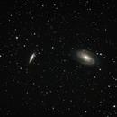 M81 & M82 - Bodes Galaxy & Cigar Galaxy,                                Trace