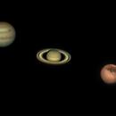 3 Planet night,                                droe