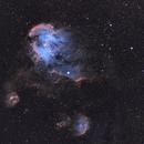 IC 2944 Running Chicken Nebula in SHO,                                BO PENG(ISAAC)