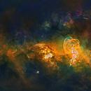 NGC 3576 - Starless,                                Rodrigo González...