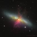 M82 Cigar Galaxy,                                Sascha Schueller