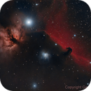 Horse Head and Flame nebula,                                Gerson Pinto