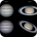 Some of my best 2018 planetary images (until now),                                Lucas Magalhães