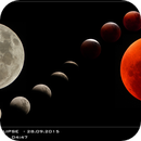 Total Lunar Eclipse - photo compilation - from beginning to max phase (28.09.2015),                                Łukasz Sujka