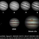 Jupiter - LRGB,                                Samuel Müller