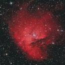 NGC 281 - Pacman Nebula in (HaR)RGB,                                Kevin Fitzpatrick