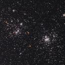 Perseus Double Cluster - NGC 869 & 884,                                James Basile