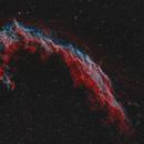 NGC-6992  Veil Nebula, RGBHaOIII, (Deep Sky West).,                                Iñigo Gamarra