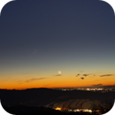 Moonset April 2020,                                Donnie Barnett
