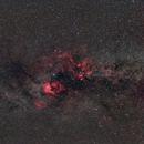 Nebulae between the Swan and the Cepheus,                                Gianluca Belgrado