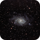 Messier 33 - Triangulum Galaxy (with 1503 Kuopio on the right side of the galaxy),                                Csere Mihaly