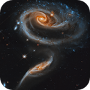 Interacting Galaxies in Andromeda: Arp 273 from HST,                                Bogdan Borz