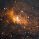 Bubble Nebula (NGC7635) in Ha/OIII,                                Jose Carballada