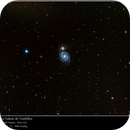 20140503 - M51 Whirlpool Galaxy,                                clapiotte