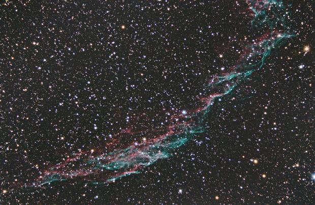 NGC6992 - Pixinsight version,                                nazarine
