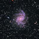 NGC 6946  Fireworks Galaxy,                                David Kennedy