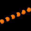 Parcial Solar Eclipse,                                Carlos Alberto Palhares - OBSERVATÓRIO ZÊNITE
