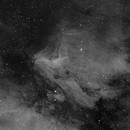 Pelican Nebula - Ha Only,                                Arringar