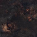 NGC7000 & IC1318,                                Jlndfr