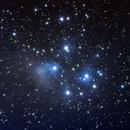 Pleiades with Pentax K70 on Alt-Az mount \no flattener,                                frankszabo75