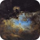 M16 - SHO - ZWO ASI1600 First light,                                Vincent Savioz