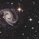 NGC 1566 The Spanish Dancer Galaxy from Deep Sky Chile in December 2019,                                Yves Jongen