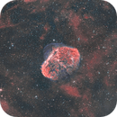 NGC6888 - Crescent Nebula - HOO,                                Patrice B