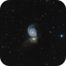 M51 Test with the QHY168C,                                Frank Zoltowski