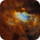The Eagle Nebula M16 in SHO,                                Will Czaja