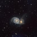 M51 and NGC 5194,                                Gowri Visweswaran