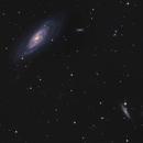 M106 and NGC 4217,                                Moorefam