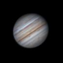 Jupiter First Attempt at Derotation (Best 3 of 9  90 second imaging Runs),                                Brandon Tackett
