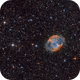 Dumbell  M27 - in classical RGB,                                Arnaud Peel