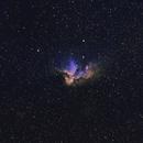 NGC 7380 - Wizard Nebula,                                Richard White