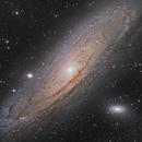 Andromeda M31 & Friends,                                Darkforce